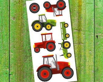 Temporary Tattoos - The tractors