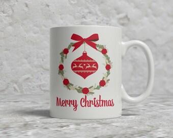 Christmas Mug, Merry Chirstmas