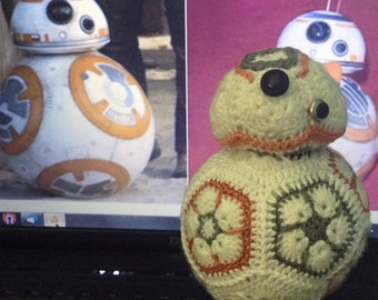 BB8 the African flower Star Wars character
