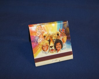 Save for Debby FRONTIER CASINO MATCHBOOK Siegfried and Roy Las Vegas
