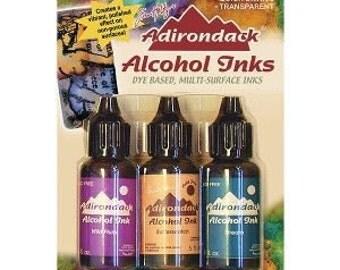 Alcohol Ink Wild PLUM/BUTTERSCOTCH/STREAM Tim Holtz TIM19787 Nature Walk - cc03 IN004