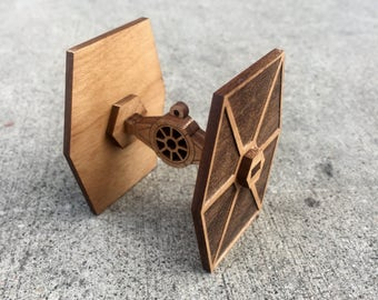 TIE Fighter Model kit/Holiday Ornament