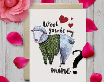Wool you be mine?