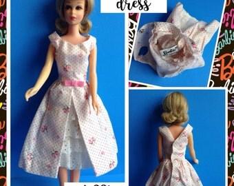 Vintage Mattel Barbie Garden Party Dress