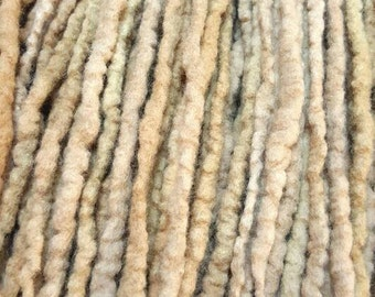 Wool Dreadlocks Custom Wool Dreads Handmade Hippie Dreads Hair Extensions Wool Dreads Ombre Hair Accessories Set of 45