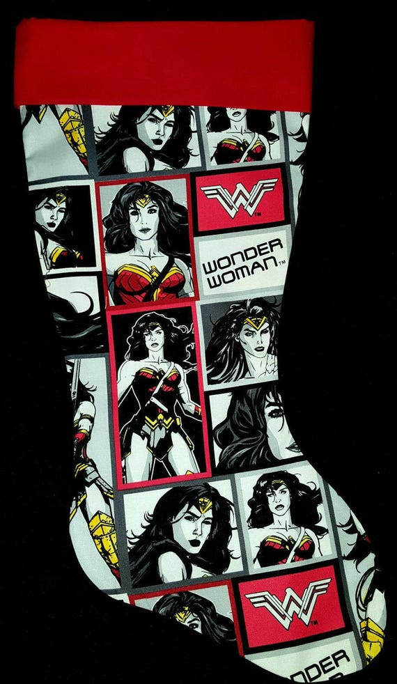 Wonder WomanChristmas Stocking
