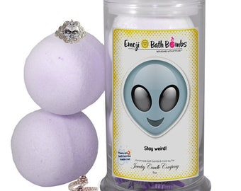 bath bombs with jewelry inside soap etsy 8859