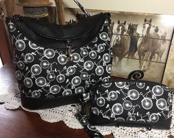 Hobo Bag With Matching Wristlet