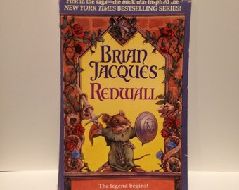 Recycled Redwall YA Scifi Fantasy Blank Spiral Notebook