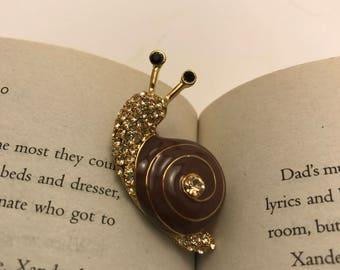 Snail Pin