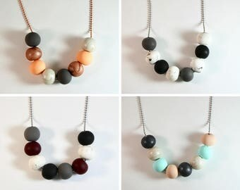 EEDIE Clay Necklace