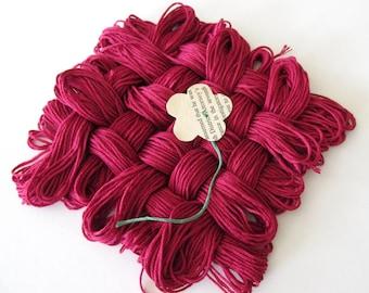 Ultra Very Dark Dusty Rose Thread - #150 - Pack of 12 Skeins