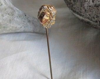 Vintage Art Nouveau Stickpin