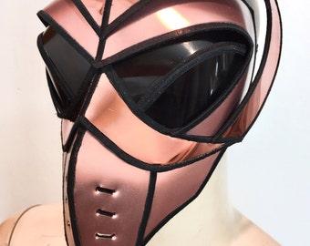 Alien muzle goggles, futuristic mask, sci fi, cyber eyewear, mask, goggles, face mask