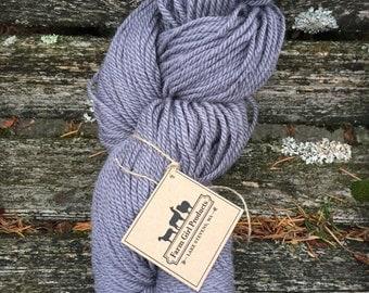 BLue Faced Leicester/merino/alpaca yarn worsted