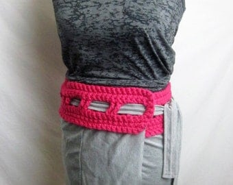 Wrap Skirt- Pink/Grey