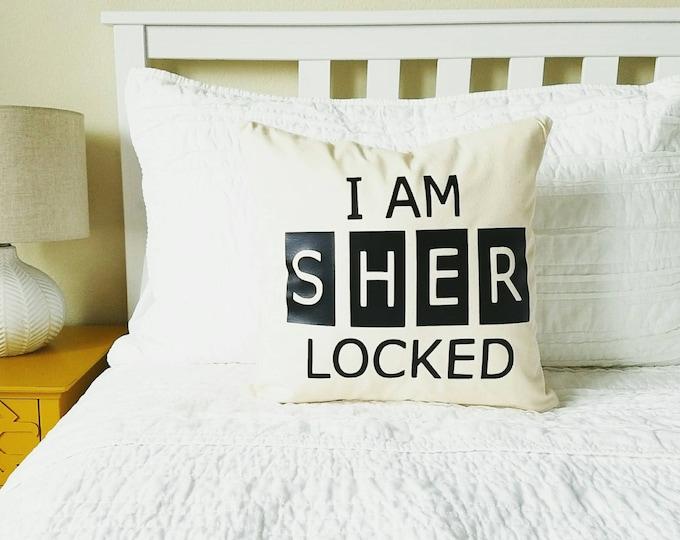 I Am Sherlocked - Sherlock Holmes Pillow