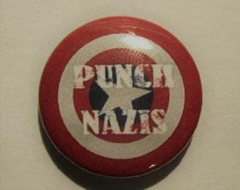 Punch Nazis Button