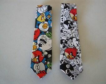 Children's Angry Birds Neckties