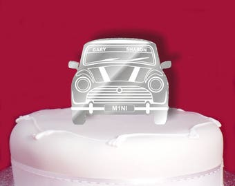 mini car wedding cake topper cars cake topper etsy 17391