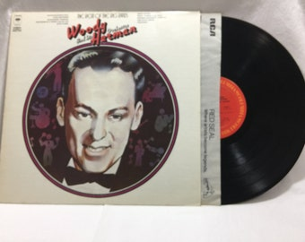 Woody Herman And His Orchestra The Beat Of The Big Bands Vintage Vinyl Record Album 33 rpm lp 1973 Columbia Records 32020