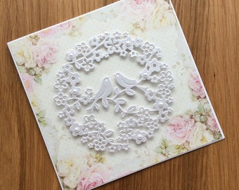 Handmade Birthday Card, Handmade Wedding Cards, Handmade Greeting Cards, Handmade Valentine's Day Card, Handmade Cards