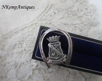 Old horseshoe brooch