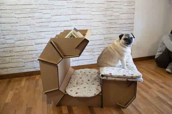 Sostenibile cuccia per cani da interno cani di media taglia - Cuccia per cani interno ...