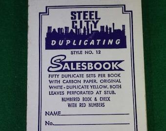 Vintage Steel City  Duplicating Salebook