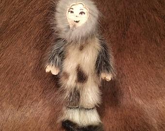 Alaska Native Made Fur Doll