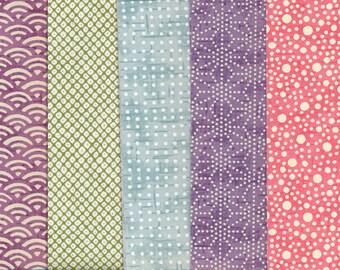 Chiyogami Paper Set colors