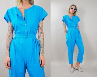 Cotton bloused Pocket Jumpsuit