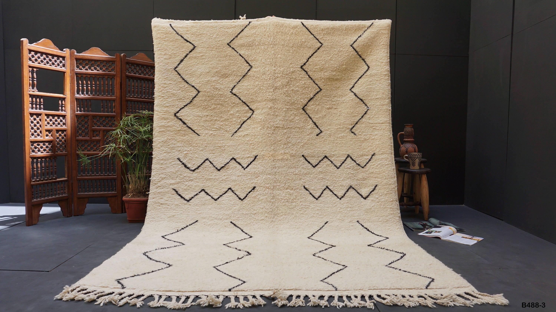 tapis berb re fait main tapis marocain 67 x 99 pi marrakech. Black Bedroom Furniture Sets. Home Design Ideas
