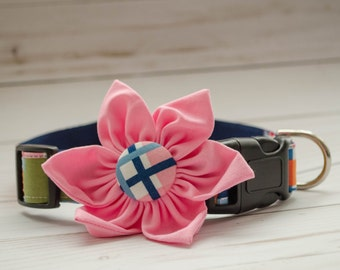 "The ""Chloe"" Dog Flower Collar"