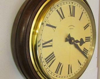 1920/1930s Synchronome  Vintage Electric Wall Clock