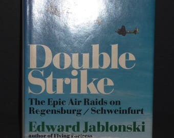Double Strike 1974 hardcover book by Edward Jablonski- Doubleday book