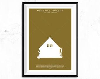 Moonrise Kingdom Movie Poster Print - Tent