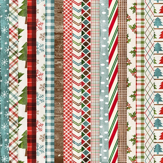 Christmas Woodland Patterns