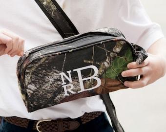 Camo Personalized Mens Toiletry Bag Monogrammed Dopp Kit Monogrammed Toiletry Bag for Men - Camouflage Travel Bag