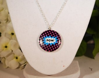 Pow! Locket Necklace