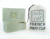 FRENCH GREEN CLAY handmade soap 6 oz