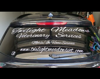 Store Window Etsy - Custom car decals businesswindow decals