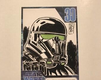 Star WarsFan Days 2007 Sketch Card Commissions