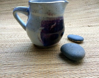 pottery mug, large handmade mug, blue stoneware mug, wheel thrown pottery mug, stoneware mug, ceramic mug, coffee mug, pottery lovers, drink