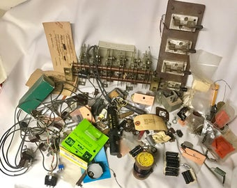Vintage Lot - Audio / Video Electronics Parts - Random Assortment 3