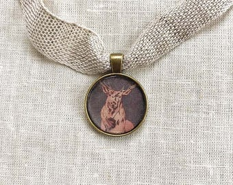 Elk Guide Pendant Gift Set