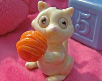 Lampwork glass cat bead- Cat Bead-Lampwork cat