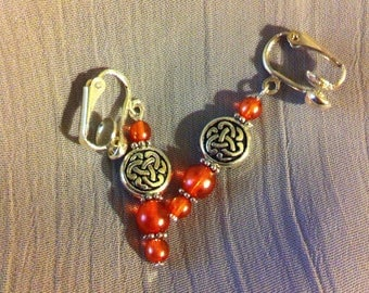 Rosé knot and beads – summer node jewelry