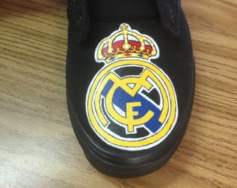 Real Madrid hand painted Shoes
