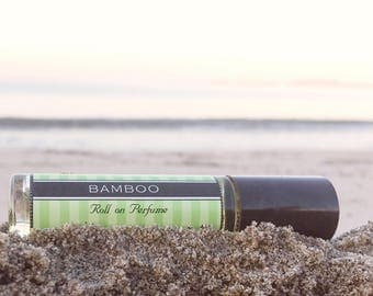 BAMBOO || Roll on Perfume || Birthday Gift for Her || Long lasting perfume || vegan perfume oil
